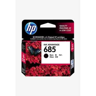 HP 685 Black Ink Cartridge - Black