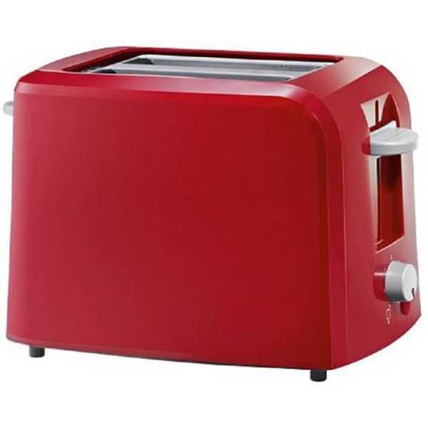 Skyline LTC610/6 750W 2 Slice Pop Up Toaster - Red