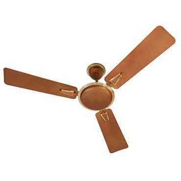 Usha Vetra 3 Blade (1200mm) Ceiling Fan - Brown   White   Orange