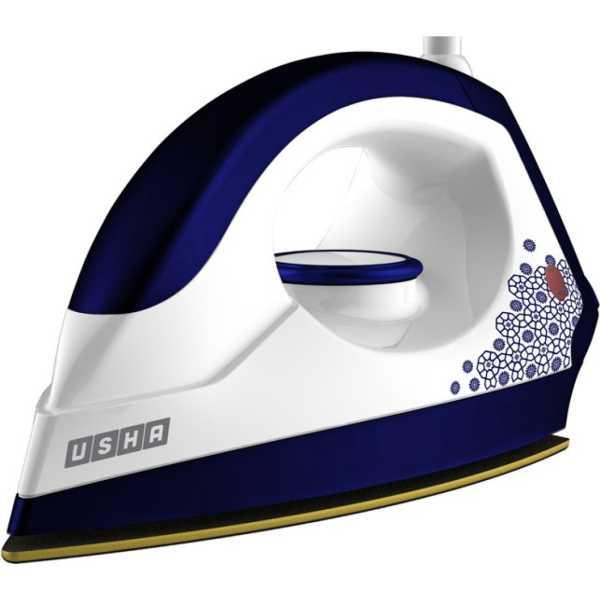 Usha  EI 3302 1100 W Dry Iron - White | Grey | Gold | Red | Blue | Yellow