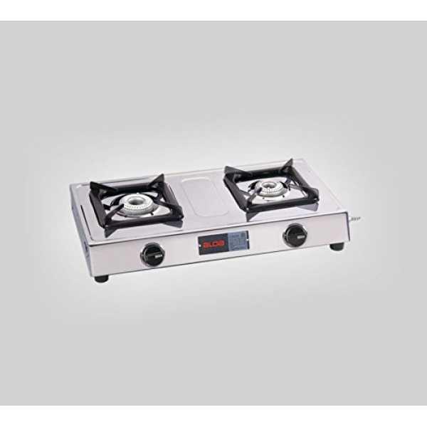 Alda CTA 120 SSAL  2 Burner Gas Cooktop - Silver | Steel
