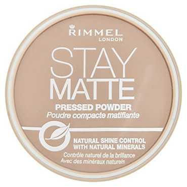 Rimmel London Stay Matte Pressed Powder (Silky Beige) - Beige