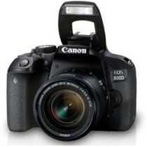 Canon EOS 800D DSLR (With 18-55 IS STM Lens)