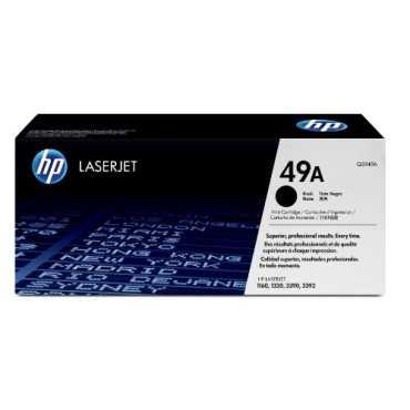HP 49A Black LaserJet Toner Cartridge - Black