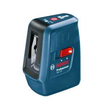 Bosch GLL 3X Professional Line Laser - Blue