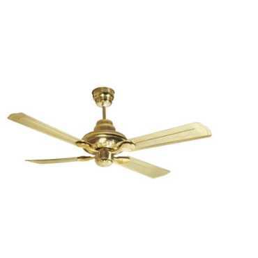 Havells Florence 4 Blade (1200mm) Ceiling Fan - Black | Gold | Brown