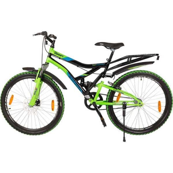 Hero Sprint 26T Winner SWIN26BKGN01 Road Cycle (Black, Green)