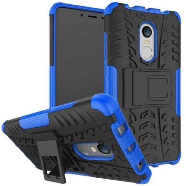 Flipkart SmartBuy Back Cover for Mi Redmi Note 4(Royal Blue, Shock Proof, Rubber, Plastic)