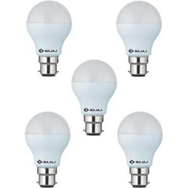 Bajaj 9 W LED CDL B22 HPF Bulb White (pack of 5) - White