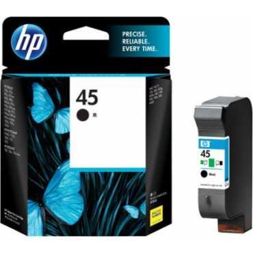 HP 45 Black Ink Cartridge - Black