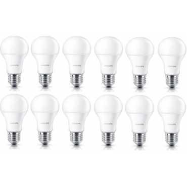 Philips Stellar Bright 12w Standard E27 1200L LED Bulb White Pack of 12