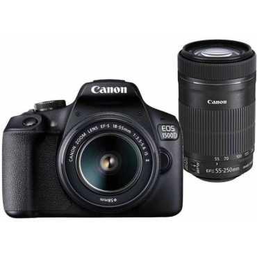 Canon EOS 1500D DSLR Camera (EF-S 18-55mm f/3.5-f/5.6 IS II Kit Lens)