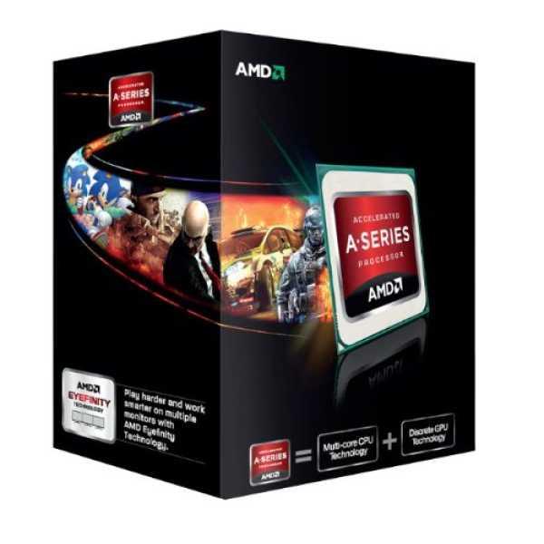 AMD 3.6 GHz FM2 Quad Core APU A8 5600K Desktop Processor