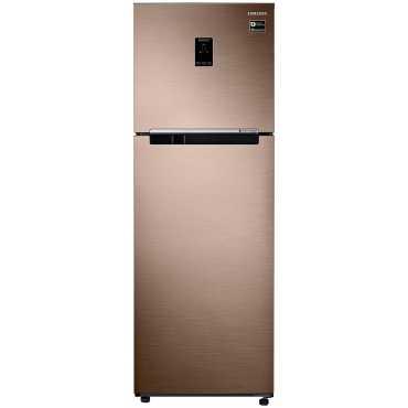 Samsung RT37M5538DP 345 L 3 Star Frost Free Double Door Refrigerator - Bronze