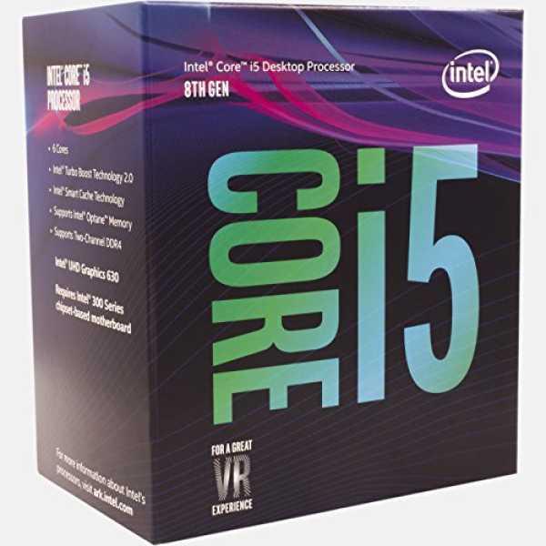 Intel (BX80684I58400) Core i5 8th Generation Processor - Silver