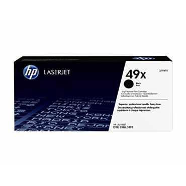 HP 49X Black LaserJet Toner Cartridge - Black