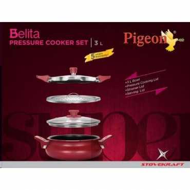 Pigeon CP204913054 Belita Super 3 In 1 Cooker (3 L) - Silver
