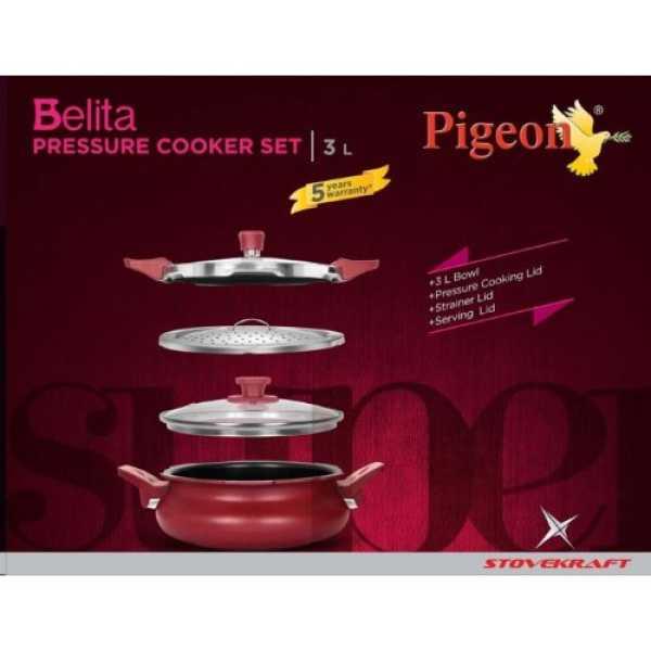 Pigeon CP204913054 Belita Super 3 In 1 Cooker (3 L)