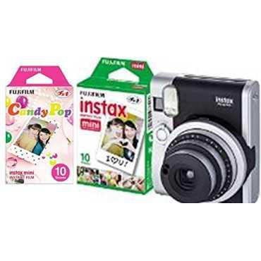 Fujifilm Instax Mini 90 Instant Camera (with 20 Shots Film) - Black