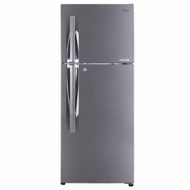 LG GL-C292RPZU 260 L 3 Star Inverter Frost Free Double Door Refrigerator - Steel
