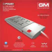 GM G-Power 6 Strip Surge Protector