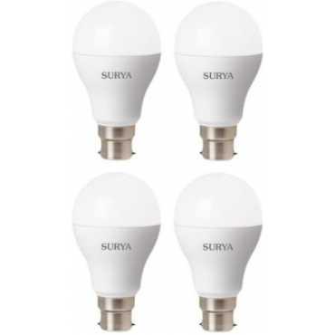 Surya 12W White 1260 Lumens LED Bulbs (Pack Of 4) - White