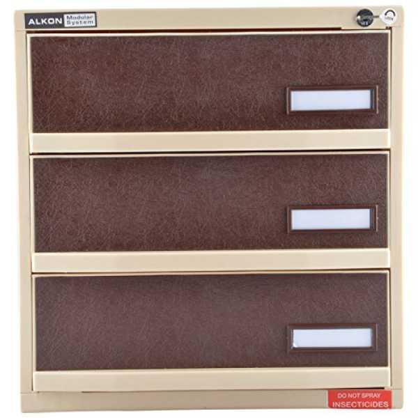 Alkon  AMS3L Modular System Safe Locker - Beige
