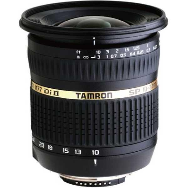 Tamron SP AF 10-24mm F/3.5-4.5 Di-II LD Aspherical (IF) Lens (for Canon DSLR)
