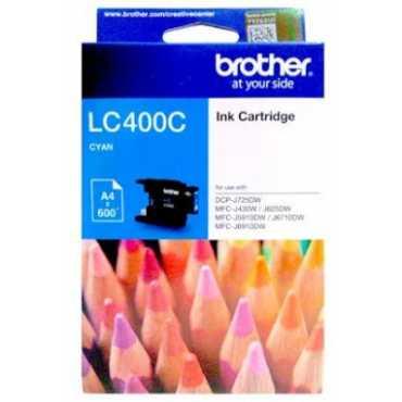 Brother LC400C Cyan Ink Cartridge - Blue