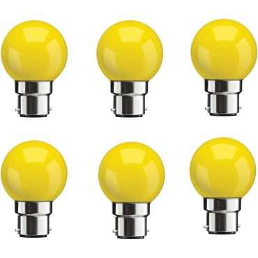 Syska 0 5W Yellow LED Bulbs Pack Of 6