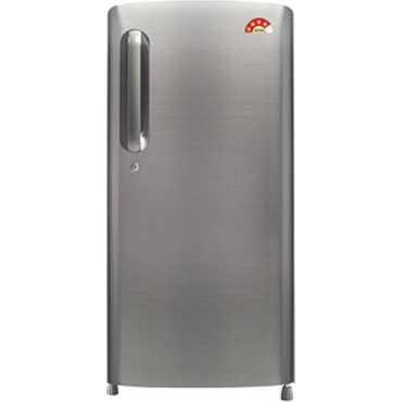 LG GL-B201APZW 190L 3S Single-door Refrigerator Shiny Steel
