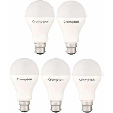 Crompton 23W Standard B22 2300L LED Bulb (White,Pack of 5) - White