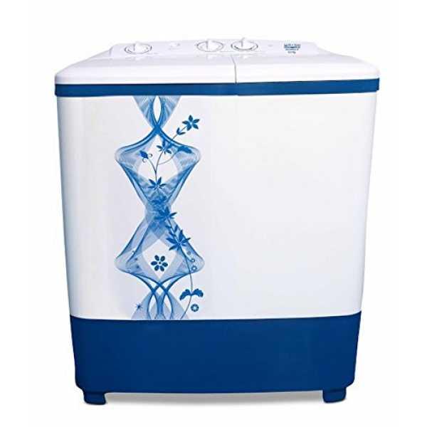 Mitashi 6.5 Kg Semi Automatic Washing Machine (MiSAWM65v10) - White