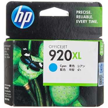 HP 920XL Cyan Ink Cartridge - Cyan | Blue