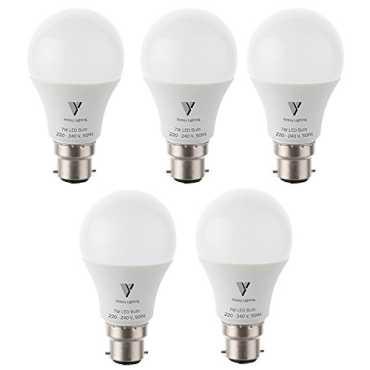Victory Lighting 7W White LED Bulb Pack of 5