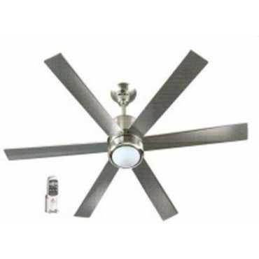 Bajaj Magnifique FL-01 Remote 6 Blade Ceiling Fan - Silver | Steel
