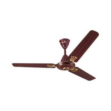 Bajaj Bahar Deco 3 Blade (1200mm) Ceiling Fan - Brown | White