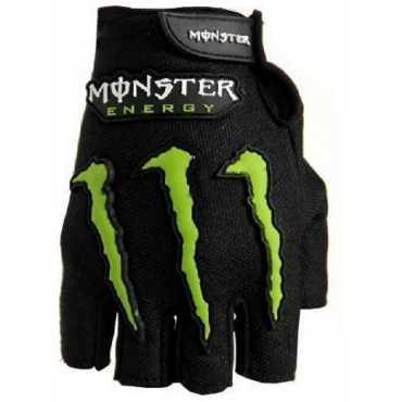 Monster Open Finger Bike Driving Gloves XL