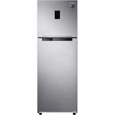 Samsung 345 L 3 Star Frost Free Double Door Refrigerator Elegant Inox RT37T4513S8 HL