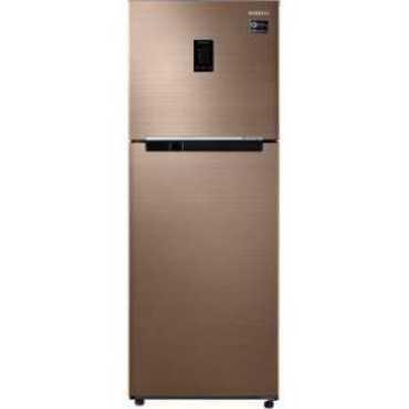 Samsung RT34M5538DP 324 L 3 Star Frost Free Double Door Refrigerator