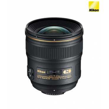 Nikon 24mm f/1.4G ED AF-S Nikkor Lens (FX Format) - Black