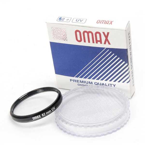 Omax 62mm UV Filter