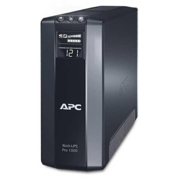 APC Back-UPS Pro BR1000G-IN 1 KVA UPS - Black