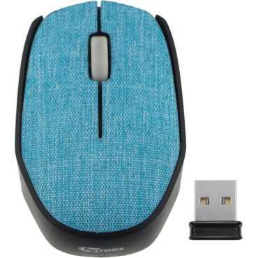 Portronics POR-828 Wireless Optical Mouse - Blue   Orange   Grey