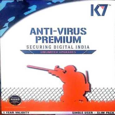 K7 Antivirus Premium 2016 6Pc 1Year