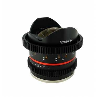 Rokinon 8mm T3 1 UMC Cine Fisheye II Lens For Canon EF-M Mount