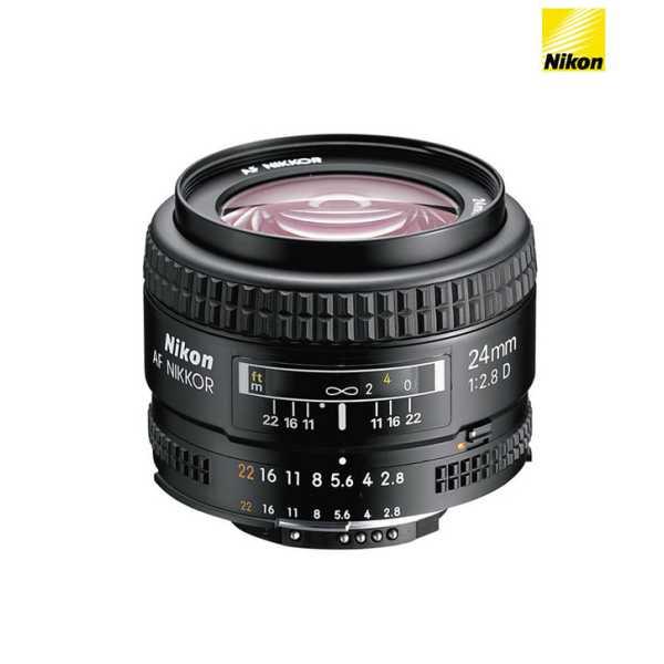 Nikon 24mm f/2.8D AF FX Lens