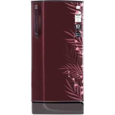 Godrej RD Edge 210 TAF 3.2 195 L 3 Star Direct Cool Single Door Refrigerator (Fern) - Red