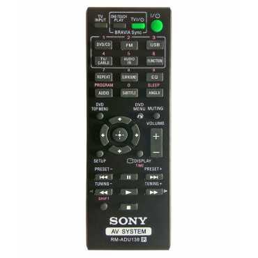 Sony RM-ADU138 Remote Controller