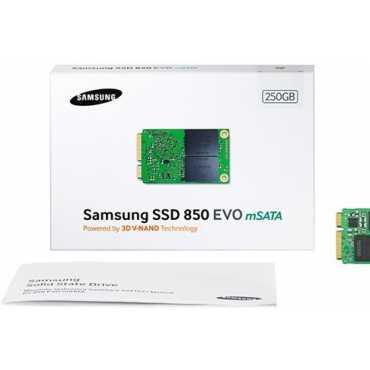 Samsung 850 EVO mSATA (MZ-M5E250) 250GB Internal SSD - White